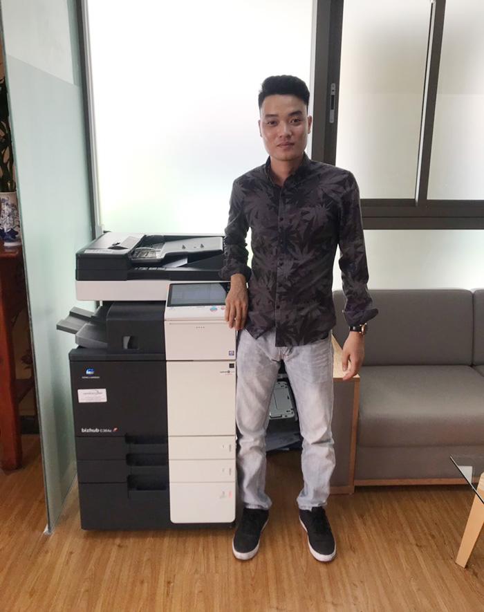 Cho thuê máy photocopy Konika giá rẻ cho khách hàng tại Hà Nội