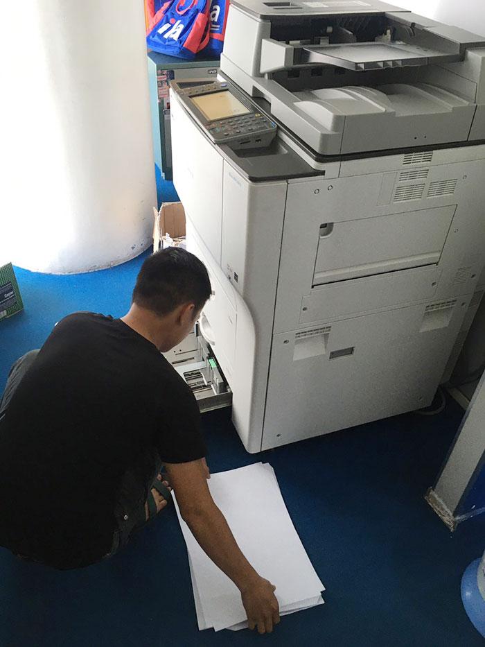 Cho thuê máy photocopy Ricoh MP 7001 tại Quốc Oai, Hà Nội