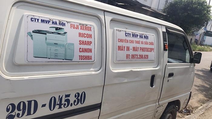 Dự án cho thuê máy photocopy Ricoh MP7001 tại Hoài Đức, Hà Nội