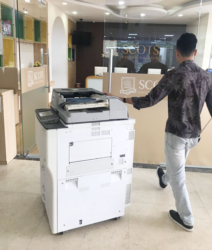 Cho thuê máy photocopy tại trung tâm tiếng Anh cơ sở 6 tại Mỹ Đình, Hà Nội