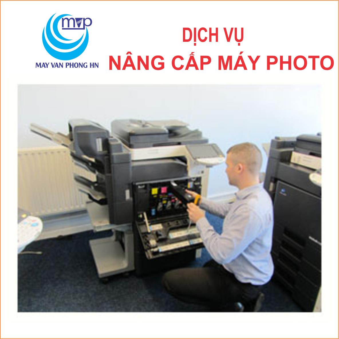 Dịch vụ nâng cấp máy photo