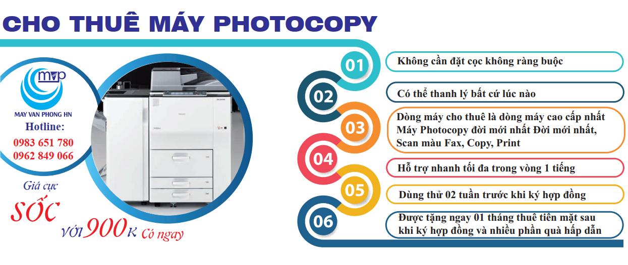 Những lợi ích tuyệt vời khi doanh nghiệp thuê máy photocopy sử dụng